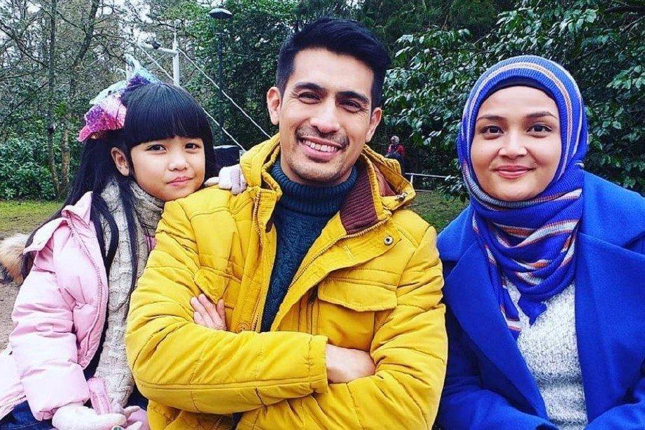 PELAKON drama Demi, Ashraf Muslim dan Puteri Aishah(kanan)